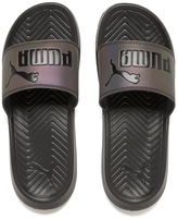 Puma Women's Popcat Swan Slide Sandals Black
