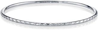 Sheryl Lowe Beaded Sterling Silver Bangle Bracelet