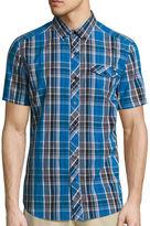 Ecko Unlimited Unltd. Short-Sleeve Tribeca Woven Button-Front Shirt