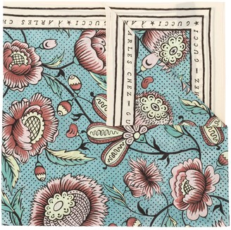 Gucci Water Colour Flowers Scarf