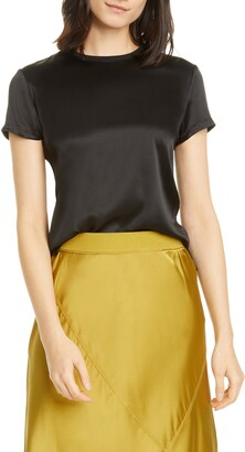 ATM Anthony Thomas Melillo Stretch Silk T-Shirt