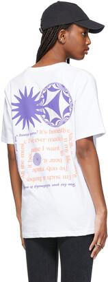 SSENSE WORKS SSENSE Exclusive Dev Hynes White Talking Chords T-Shirt