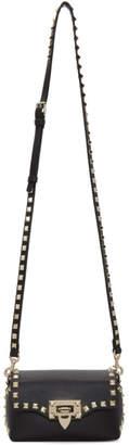 Valentino Black Garavani Mini Rockstud Crossbody Bag