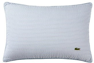 Lacoste Bailleul 100% Cotton Striped Throw Pillow