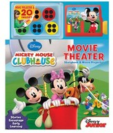 Simon & Schuster Disney Mickey Mouse Clubhouse Movie Theater: Storybook And Movie Projector.