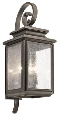 Charlton Home Zuzanna 4-Light Outdoor Wall Lantern Charlton Home Size: Large