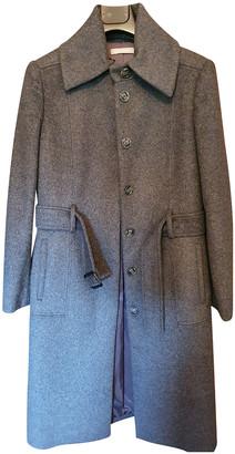 Stefanel Grey Wool Coats