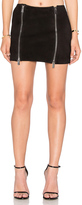 Anine Bing Suede Mini Skirt