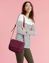 Joules Darby Bright Saddle Bag in Burgundy in One Size