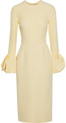 Roksanda Ricciarini Pleated Crepe Dress