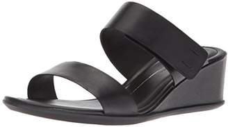 Ecco Women's Women's Shape 35 Wedge 2-Strap Slide Sandal