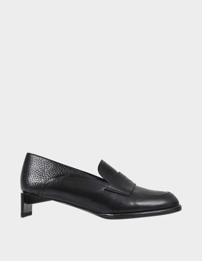 Loewe low heeled moccasin