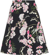 Giambattista Valli lily of the valley printed skirt