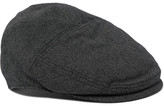Dolce & Gabbana Stretch Cotton And Wool-blend Flat Cap - Navy