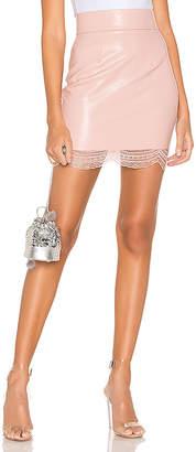 superdown Ambrosia Faux Leather Skirt