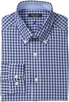 Nautica Men's Oversized Blue Gingham - Button Down
