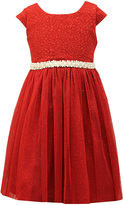 Jayne Copeland Red Cap-Sleeve Tulle Dress - Toddler & Girls