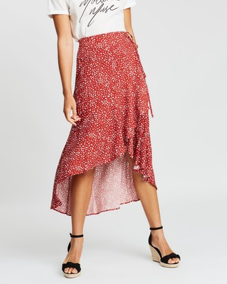 Staple The Label Sienna Ruffled Wrap Skirt