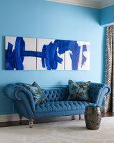 Blue Recamier Sofa