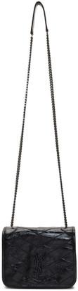Saint Laurent Black Baby Niki Chain Wallet Bag