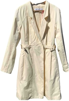 See by Chloe Ecru Cotton Trench Coat for Women