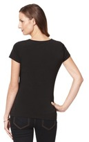 Merona Women's Slimming Options Front Twist Top - Assorted Colors