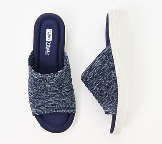 Ryka Stretch Knit Slide Demi-Wedges - Nanette