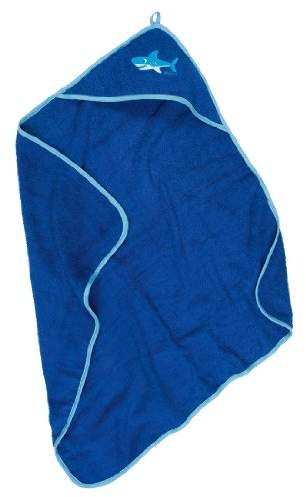 Playshoes Boys' Bathrobe - Blue - Blau (Original) - (Brand Size: )