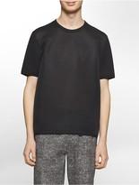 Calvin Klein Platinum Relaxed Fit Tonal Logo Mesh T-Shirt