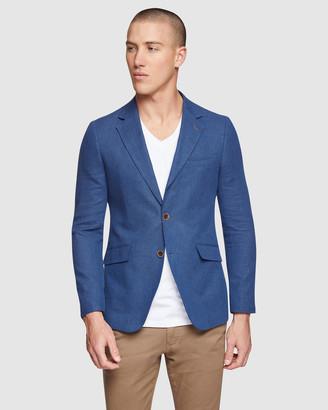 Oxford Blake Linen Cotton Blazer