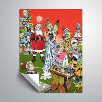 Factory Artwall Santa Claus's Toy Factory, Removable Wall Art Mural by Jesus Blasco