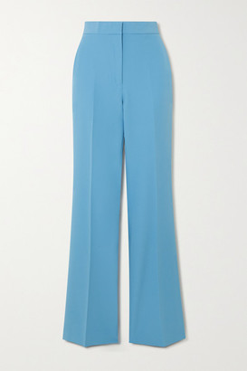 Victoria Victoria Beckham Cady Flared Pants - Azure