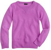 J.Crew Kids' Italian cashmere sweatshirt