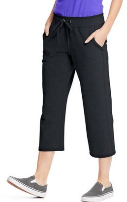 Hanes Womens French Terry Pocket Capri