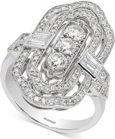Effy Pavé Classica by Diamond Statement Ring (1-1/5 ct. t.w.) in 14k White Gold