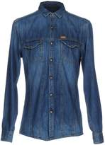 GUESS Denim shirts - Item 42607185
