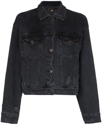 3x1 Cropped Denim Jacket