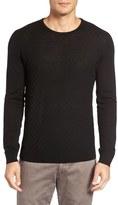 Slate & Stone Basket Weave Merino Wool Sweater