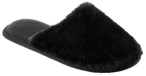 Isotoner Signature Isotoner Women's Boxed Faux Fur Laurel Clog Slippers