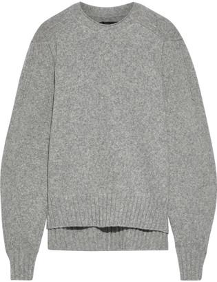 Isabel Marant Dinn Melange Wool-blend Sweater