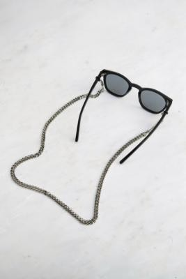 Frame Chain Diamond Sunglasses Chain - White ALL at Urban Outfitters