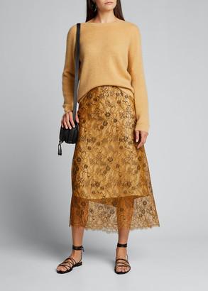 Vince Rib Stitch Raglan Sweater