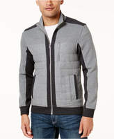 INC International Concepts Men's Quilted Colorblocked Jacket, Created for Macy's