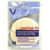 Victoria Vogue Loose Powder Puff (Round) (Case of 6)