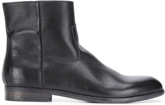 Buttero Textured Ankle Boots