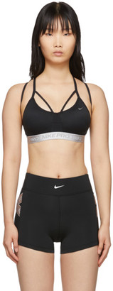 Nike Black Indy AeroAdapt Bra