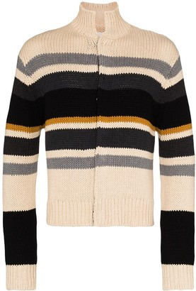Linder Kieran striped cotton cardigan