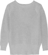 ADAM by Adam Lippes Textured cotton, cashmere and silk-blend sweater