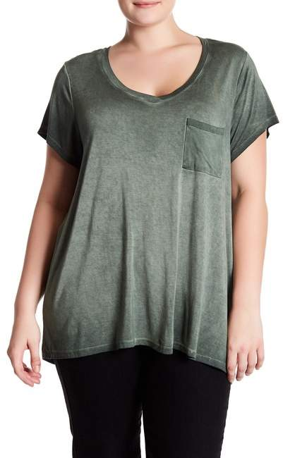 Cable & Gauge Short Sleeve Tee (Plus Size)