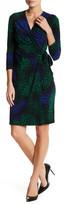 Anne Klein Classic Wrap Midi Dress